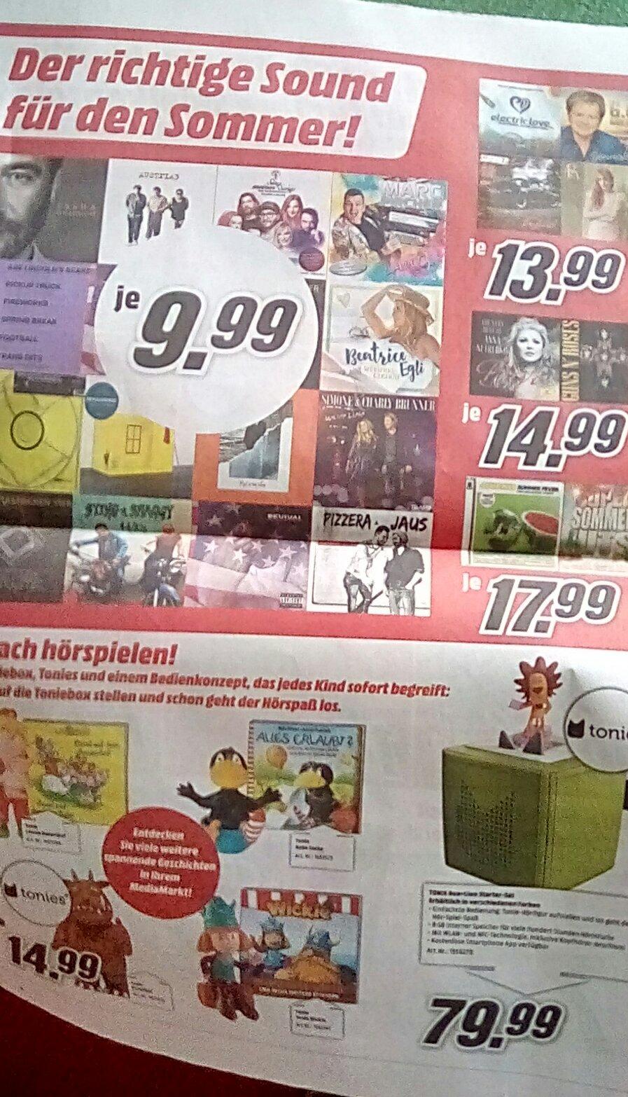 CD-Angebote bei Media Markt (nur offline)