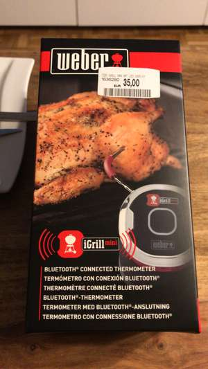 Weber Igrill Mini Bluetooth Thermometer MM Lugner City