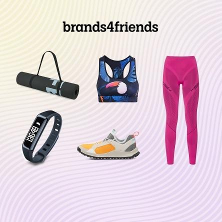 brands4friends: nochmal 10% Rabatt auf rabattierte Teile in der Kategorie Sport!