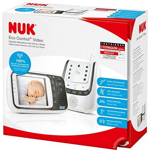 NUK Video-Babyphone Eco Control+ Video - im Amazon Tagesangebot