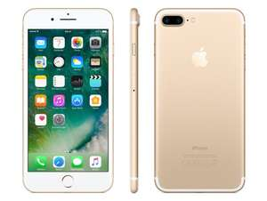 Apple iPhone 7 Plus (256GB, gold, neu) - neuer Bestpreis