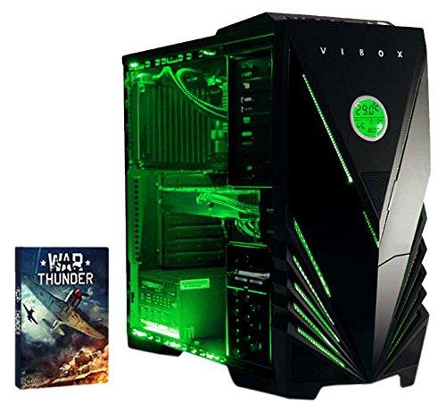 www.amazon.de - VIBOX Gaming PC Computer - mit WarThunder Spiel Bundle (4.2GHz AMD 8-Core CPU, Nvidia Geforce GTX 960-2GB, Wasserkühlung, 2TB Festplatte, 16 GB RAM, Kein Betriebssystem)
