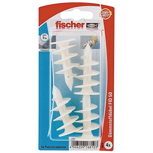 [Amazon]  Fischer FID 50 K SB-Karte, Inhalt: 4 x Dämmstoffdübel für 2,91 € statt 3,79 €