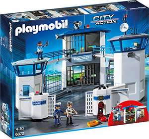 Amazon.de: Playmobil City Action - Polizei-Kommandozentrale mit Gefängnis um 44,23€