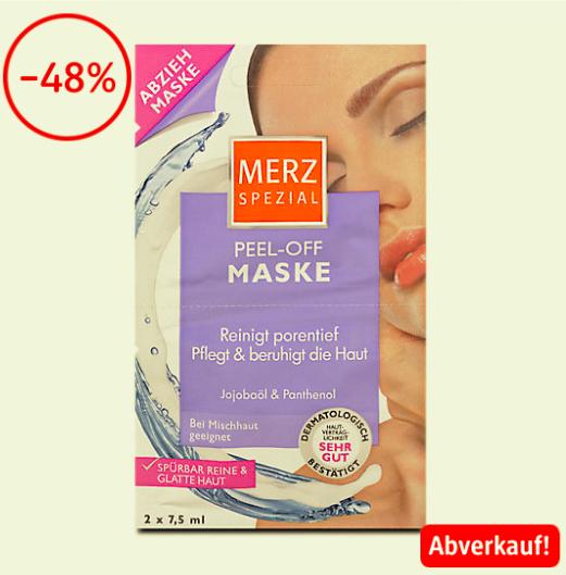Merz Spezial Masken im Abverkauf