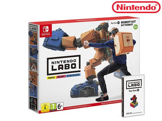 Nintendo Labo: Robot Kit für die Switch für 44,95€