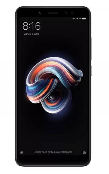 Xiaomi Redmi Note 5 (64 GB Speicher, 4 GB RAM, schwarz, Dual-Sim)