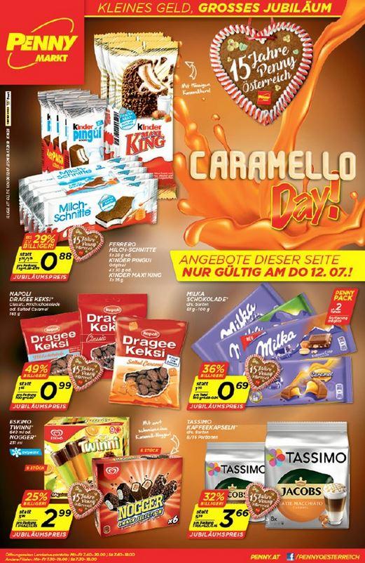 [Penny] Caramello Day - u.a. Dragee Keksi für 0,99 €, Milka 100g für 0,69 € ab 2 Stk., ...