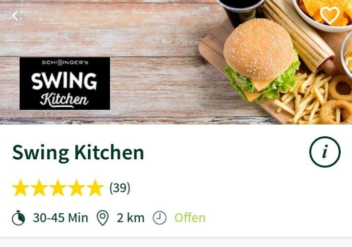 MJAM 6€ Rabatt auf eine Bestellung bei Swing Kitchen
