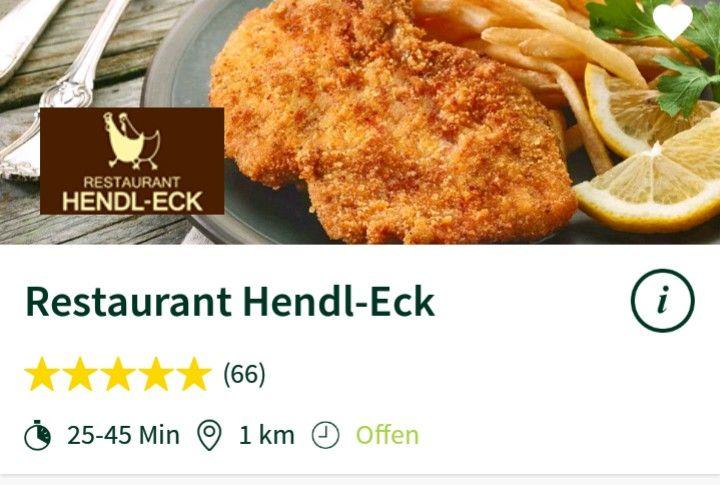 MJAM 6€ Rabatt auf eine Bestellung bei Restaurant Hendl Eck (Graz)