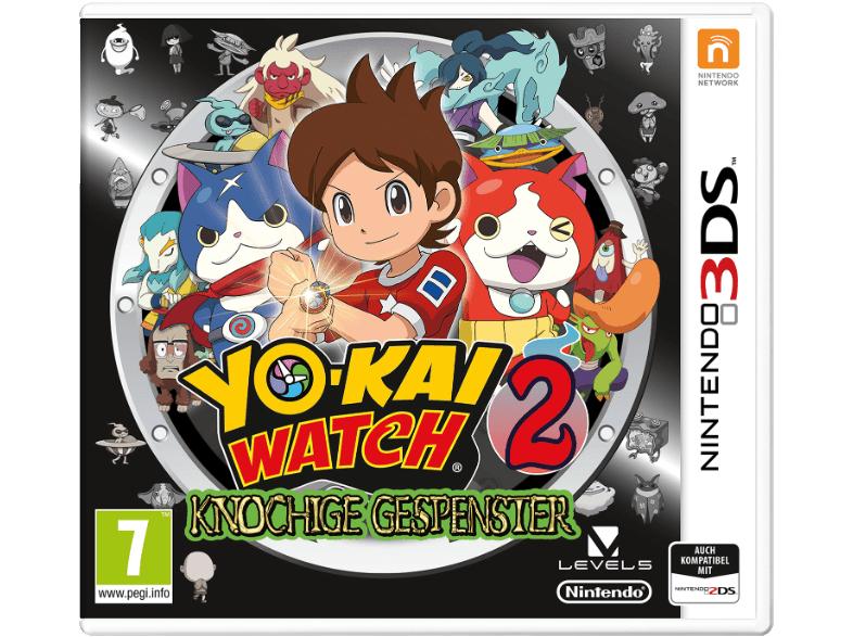 [Mediamarkt] YO-KAI WATCH 2: Knochige Gespenster Nintendo 3DS um 5,-€