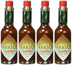 Amazon Plus: HOT! TABASCO Chipotle Sauce 4er Pack