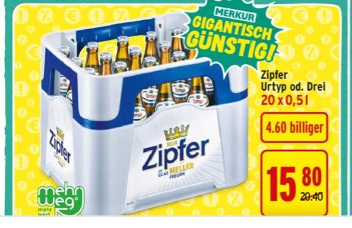 -23% Bier Bei Merkur