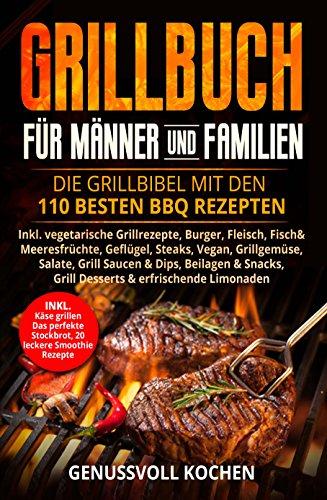 [Amazon] Grillbuch für Männer & Familien kostenlos!
