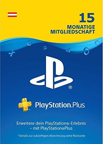 PlayStation Plus Mitgliedschaft - 15 Monate für 39,99€