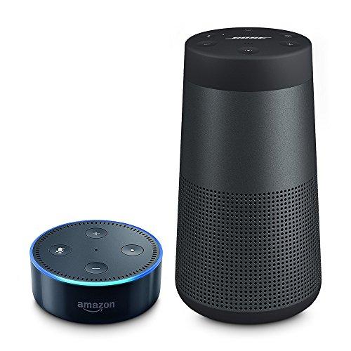 Bose SoundLink Revolve Bluetooth Lautsprecher schwarz inkl. Amazon Echo Dot (2. Generation) für 173€
