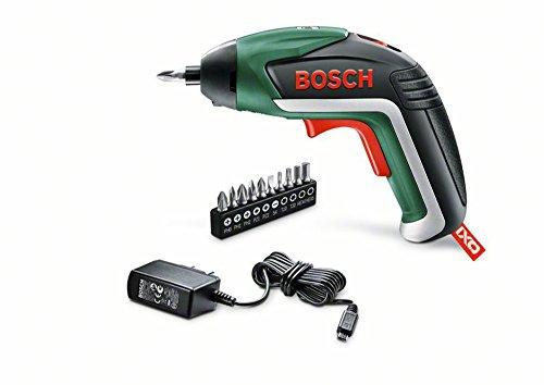 Bosch Akkuschrauber IXO (5.Gen, 10 Bits, USB Ladegerät, Dose, 3,6 Volt, 1,5 Ah)