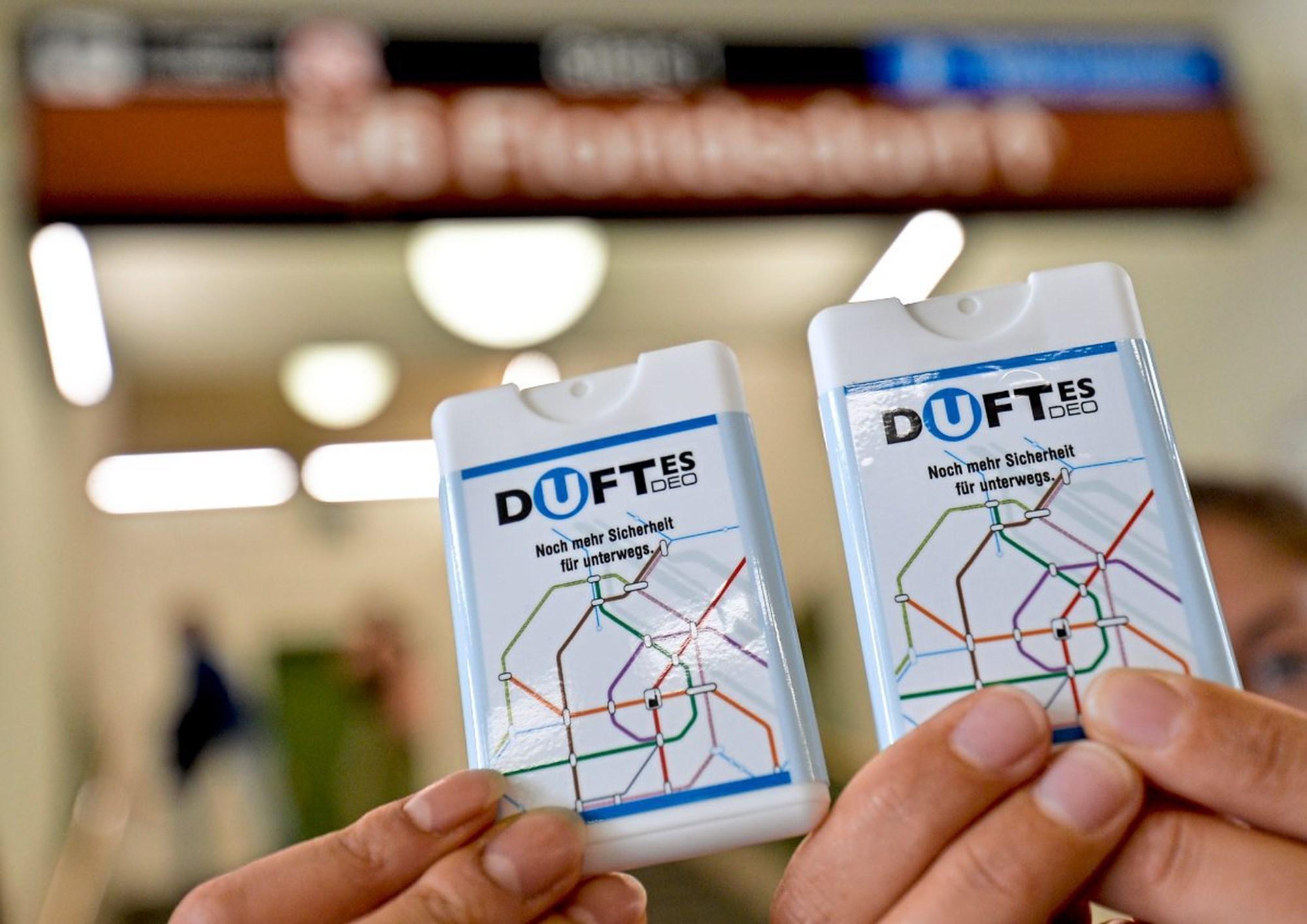 Wiener Linien verteilt kostenlose Deos für U6 Fahrgäste