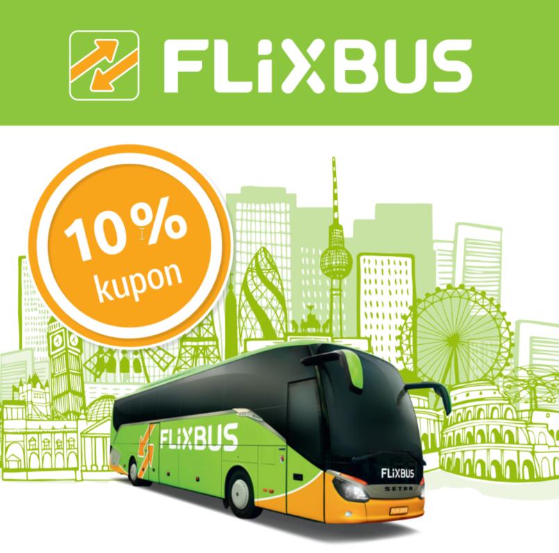 FlixBus: 10% Rabatt auf alle Fahrten - bis 30.9.2018