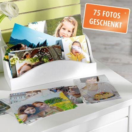 Pixum: 75 Fotoabzüge gratis