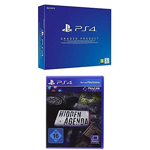 "PlayStation 4 (generalüberholt, C-Chassis, 1TB) + Controller + ""Hidden Agenda"""