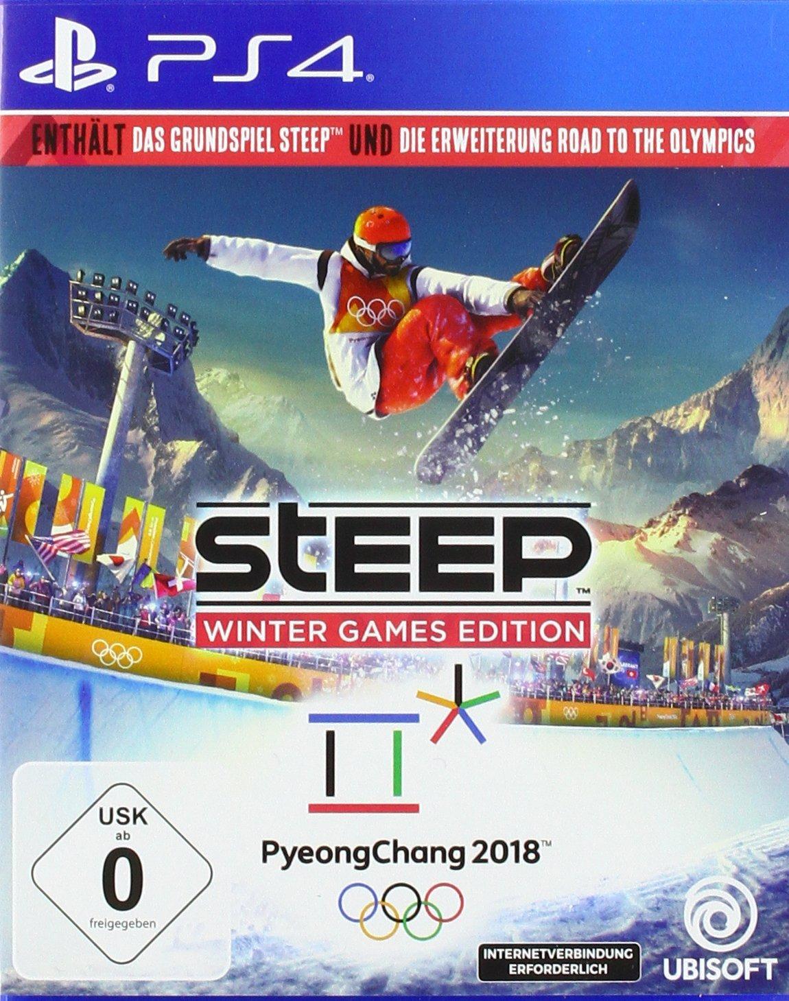 Steep - Winter Games Edition (PlayStation 4) für 14,99€