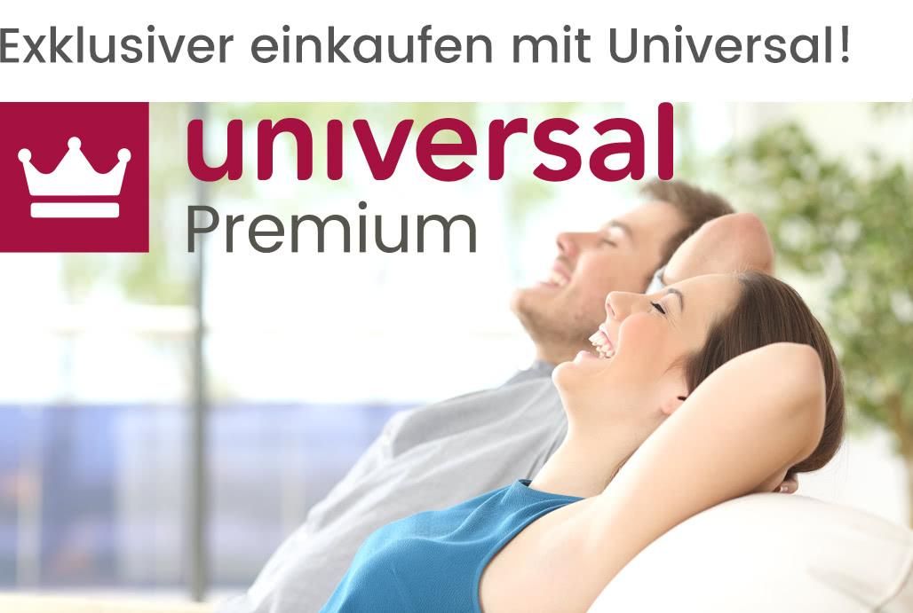 [Universal] Premium für 20 € / Jahr - kostenloser Speditionsversand statt 34,99 €