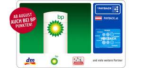 Payback: BP-Tankstellen Cashback - ab August 2018