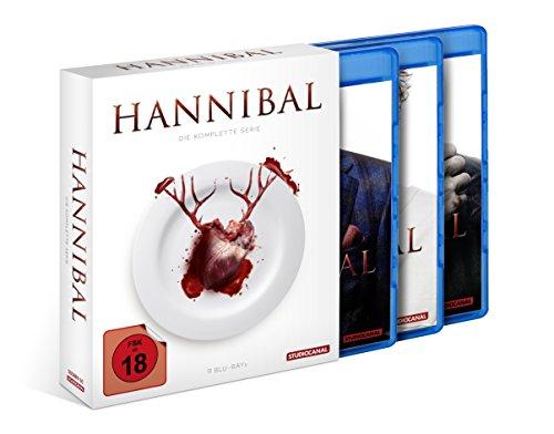 Amazon.de: Hannibal - Die komplette Serie (9x Blu-ray) um 20,14€