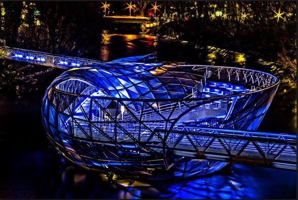 Graz: gratis Kino auf der Murinsel