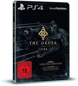 "[PS4]The Order: 1886 (uncut) Limited Steelbook Edition ""Ausdauer des Ritters"" (Lokal)"