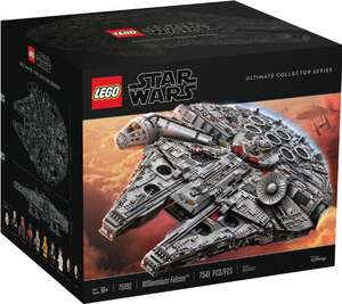 Toys r us.de: Lego Star Wars - Millennium Falcon um 650,12€