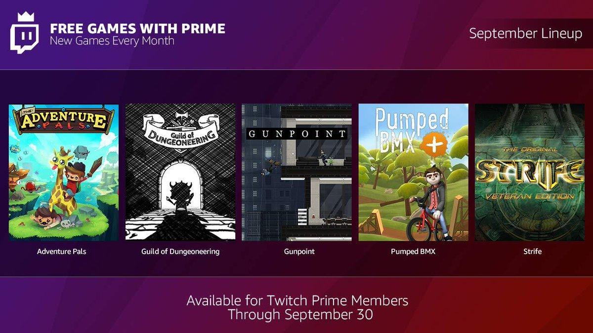[Amazon Prime] [Twitch] kostenlose Spiele für Prime Kunden!