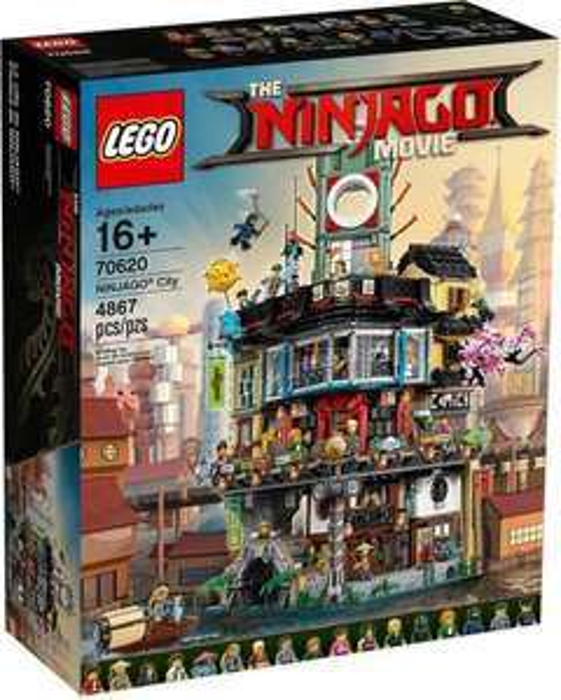 LEGO The Ninjago Movie - Ninjago City (70620) für 239,99€