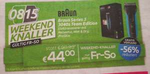 Braun series 3 3040s team edition