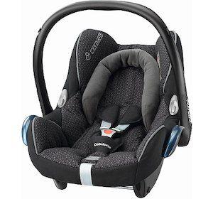Toys r us: Babyschale Maxi Cosi Cabriofix (Bezug Black Crystal)