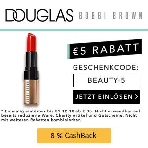 Douglas: 5€ Rabatt ab 35€