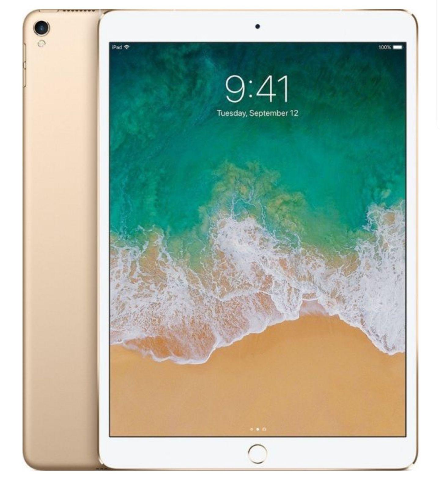 """Apple iPad Pro 10.5"""" LTE 512GB gold für 901€ bzw 871€(zahlung mit Masterpass). Noteboolsbilliger Blitzdeal bis 13:00"""