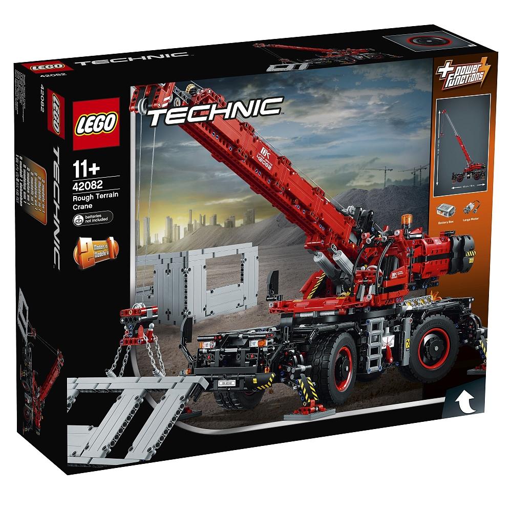 [Toys´R´us.at] LEGO Technic - Geländegängiger Kranwagen (42082) - Bestpreis