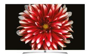 LG OLED65B7D 164 cm (65 Zoll, OLED) Fernseher (Ultra HD, Doppelter Triple Tuner, Active HDR)