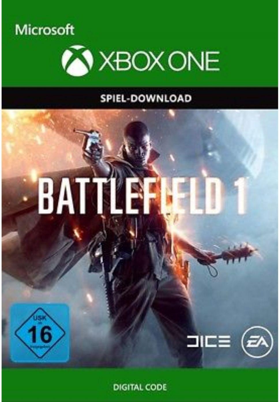 Battlefield 1 Xbox One Download Code für 12,95€ bei ebay