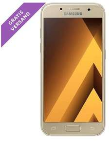 0815 Weekend: Samsung Galaxy A3 gold oder peach cloud