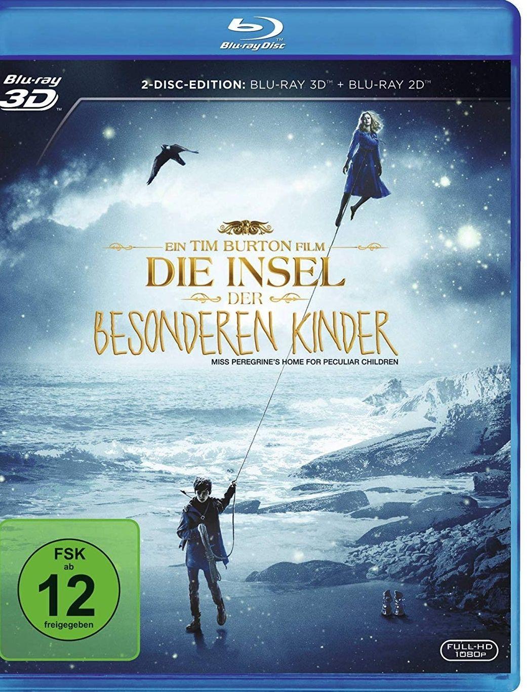 Die Insel der besonderen Kinder [2D+3D Blu-ray]  für 11,12€