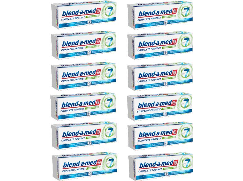 [Saturn] BLEND-A-MED Zahncreme (12 Stück) um nur 5€ (kostenloser Versand)