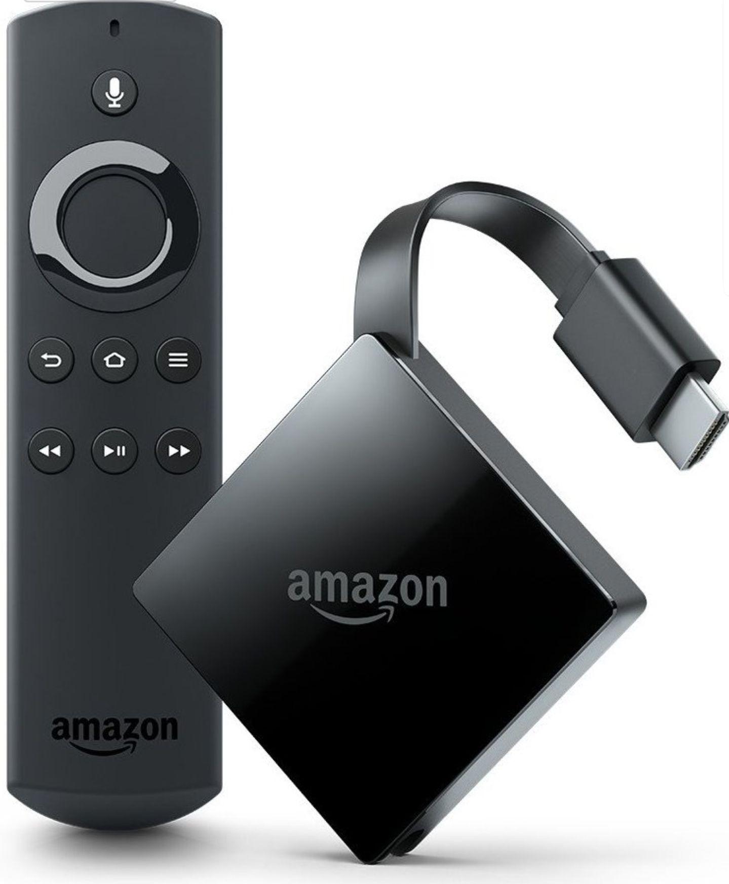Fire TV mit 4K Ultra HD and Alexa-Sprachfernbedienung, Zertifiziert und generalüberholt  Für 55.45€