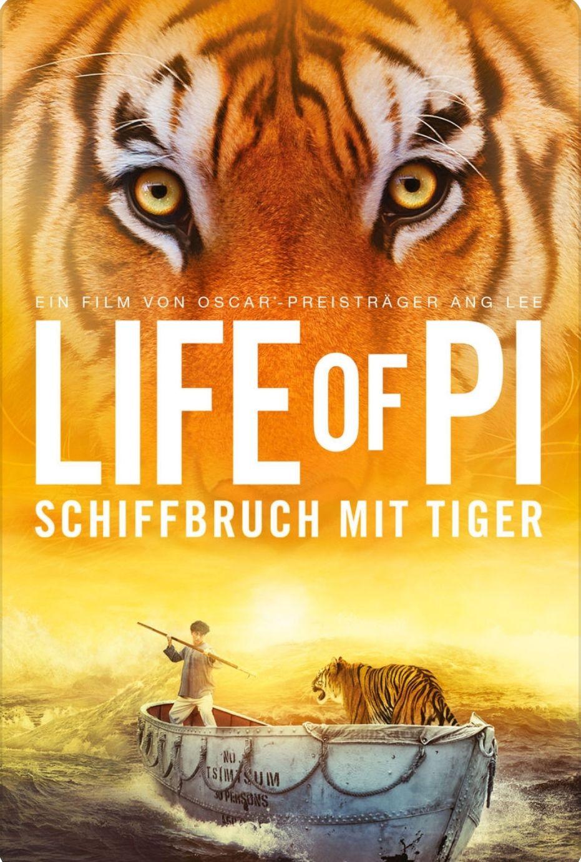 Life of Pi: Schiffbruch mit Tiger 4k zum Kaufen (Itunes) für 3,99€