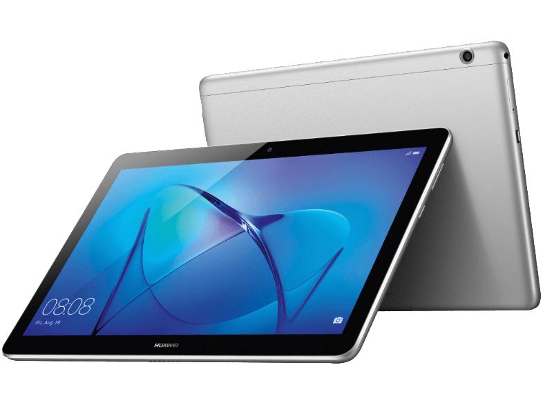 [Logoix] HUAWEI MediaPad T3 10 WiFi, Tablet mit 9.6 Zoll, 16 GB, 2 GB RAM, Android™ 7 EMUI 5.1, Grau