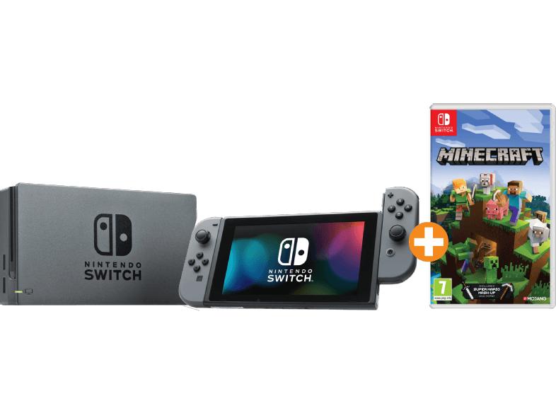 Nintendo Switch Grau inkl. Minecraft