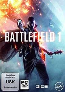 Battlefield 1 Origin Key @Origin & @Amazon.de
