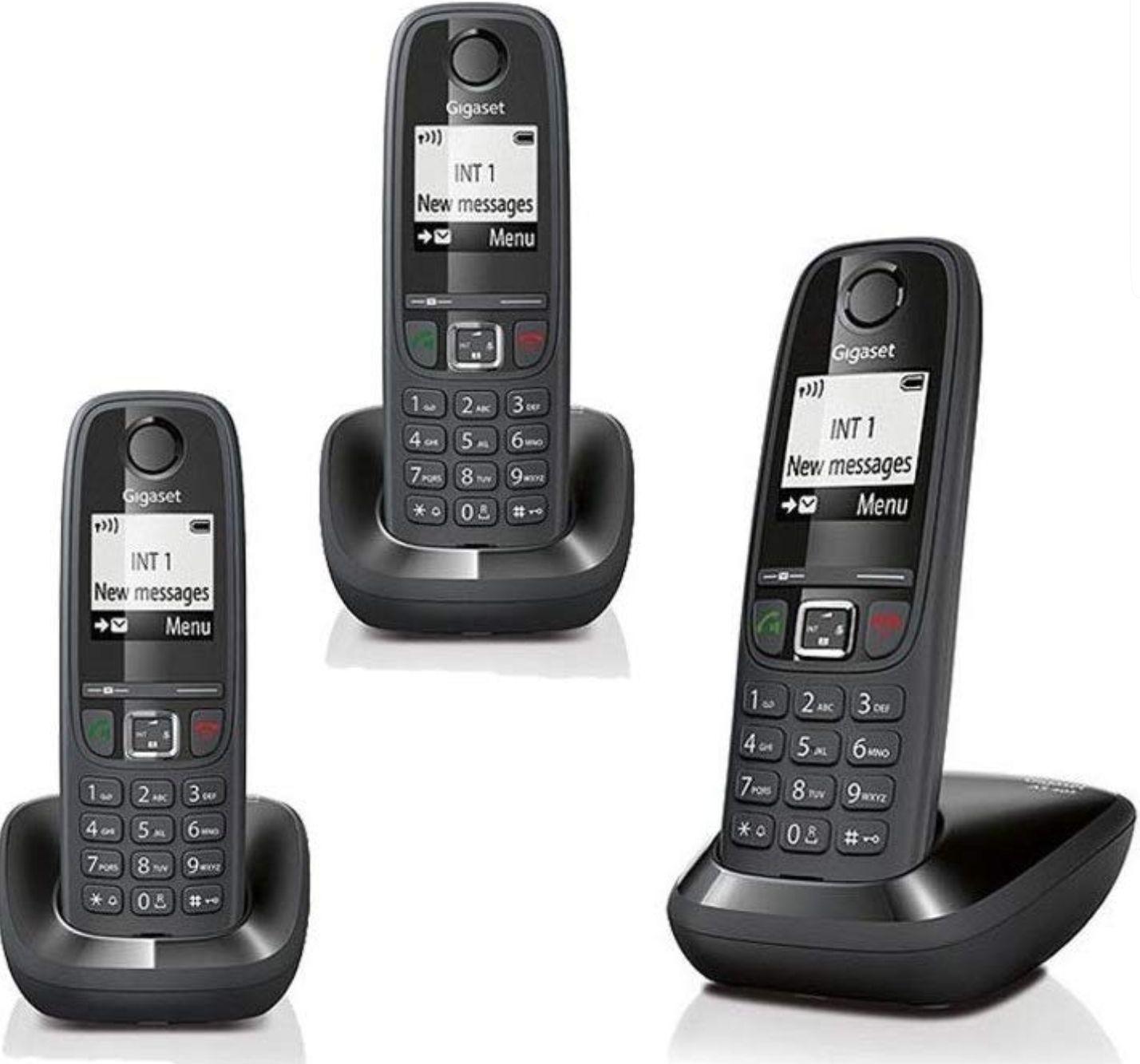 Gigaset AS405A Trio (3 Telefone) für 26,64€ (amazon.it)